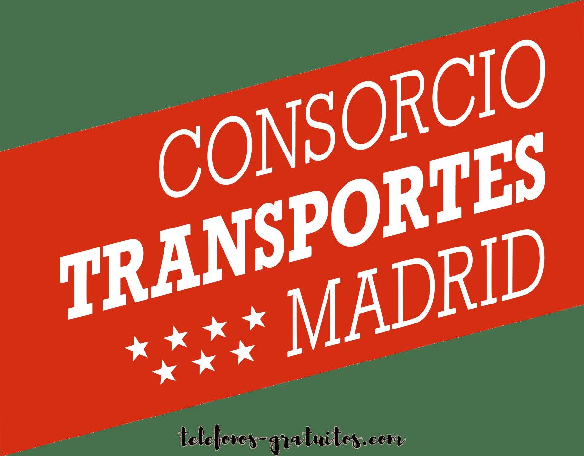 Consorcio de transportes Madrid telefono